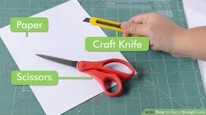 How To Cut A Blind To Size 6 Ways To Cut A Straight Line Wikihow
