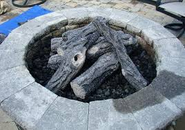 gas log fire pit table gas logs for outdoor fire pit home gas media logs rock etc woodland