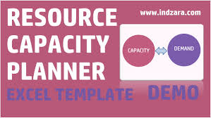 Capacity Planning Excel Template Free Resource Capacity Planner Excel Template V1 Demo