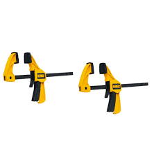 dewalt 7 8 in track saw clamp 2 pack dws5026 the home depot