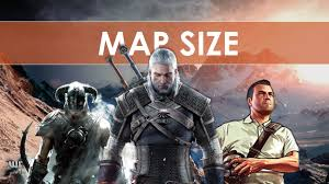 Map Size Comparison Witcher Iii Map Size Comparison Gtav Rdr Skyrim Youtube