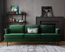 best 25 green couch decor ideas on pinterest green sofa velvet