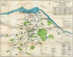 Melbourne Tram Map The Original Edinburgh Trams Map Scotland