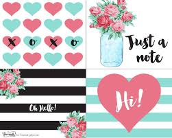 free printable retro notecards capturing with kristen duke