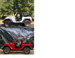 backyards jeep wrangler unlimited sahara jl vs jk picture 2018 jeep wrangler forums jl jt pickup