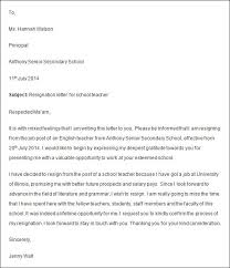 example of letters of resignation sales resignation letter