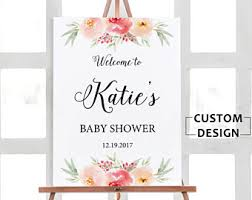 baby shower posters baby shower poster etsy