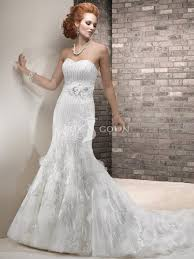 strapless ivory lace wedding dresses pictures ideas guide to