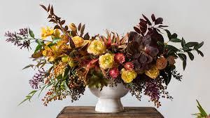 Floral Arrangement A Stunning Fall Centerpiece U0027s How To Sunset