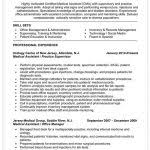Sample Resume Medical Assistant by Sample Resume For Dental Assistant With No Experience Free Cover