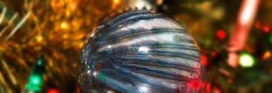 diy swirl paint glass ornaments right home