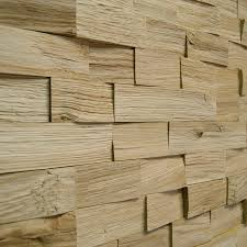 Wooden Wall Panels by Wallure Striped Oak Wide Split Natural Wooden Wall Panel