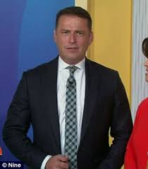 today show haircut karl stefanovic sports broader frame and sleeker haircut after