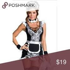 French Maid Halloween Costumes Maid Costume French Maid Costume Sweetdarknessdesigns