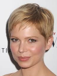 michelle williams pixie cut chic short hairstyles pinterest