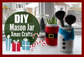 diy mason jar christmas crafts with healthnut nutrition youtube