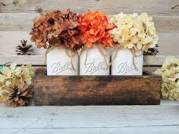 Rustic Table Centerpiece Ideas by Best 25 Mason Jar Thanksgiving Centerpieces Ideas On Pinterest