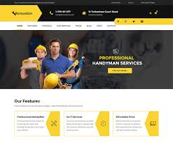 renovation theme 22 best services wordpress themes for selling services