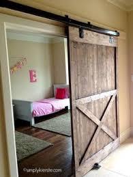 How To Make A Sliding Interior Barn Door Turn A Regular Door Into A Sliding Barn Door Barn Doors Barn