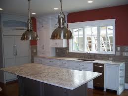 kitchen island installation white spring granite countertops 2017 also springs installation