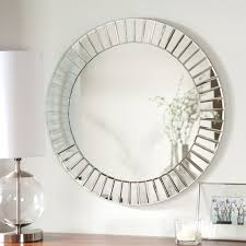 round mirror without frame vanity decoration