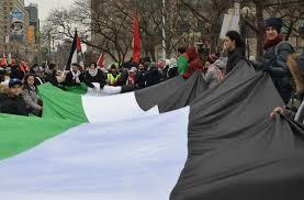 Flag Of Jerusalem Protest U2013 Jerusalem As I Walk Toronto
