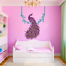 Amazon Wall Murals by Amazon Com Vinyl Peacock Wall Decal Animal Wall Decal Bird Wall