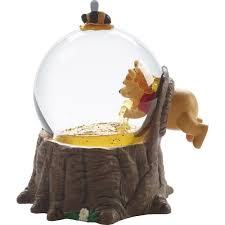 disney showcase winnie the pooh musical snow globe for the