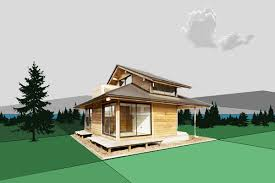 a japanese themed modular house root simple