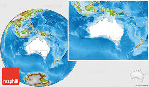 location of australia on world map blank location map of australia physical outside