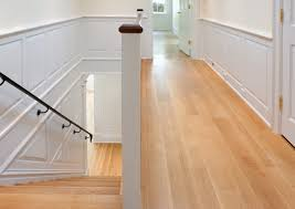 Stairs With Laminate Flooring Wide Plank Oak Hardwood Flooring For Narrow Hallway And Stairs