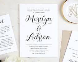 Wedding Invitation Samples Instantly Printable Wedding Invitation Templates By Swellandgrand