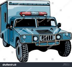 humvee clipart jail police truck check my portfolio stock vector 870154