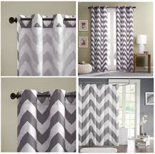 grey white large chevron bedding teen twin xl full queen king