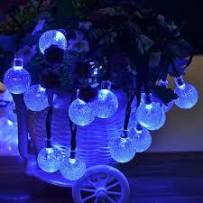 Christmas Lights Solar Powered by Index Senbowe