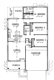 wonderful floor plan 3 bedroom bungalow house 65 on modern