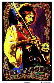 jimi headband black light jimi headband wall poster by unknown at