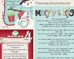 missionary care package kits u0026 ideas missionary box moms
