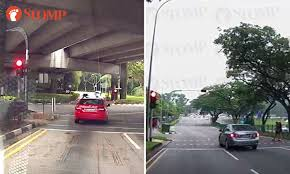 beating the red light what s the rush for these drivers caught beating the red light stomp