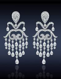 chandelier diamonds diamonds chandelier earrings jewelry