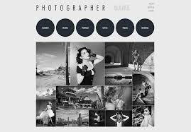 photography website template free photography web templates