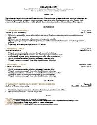 Tally Resume Sample by 30 Basic Resume Templates