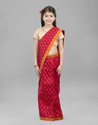 buy fabindia kids saris online fabindia com