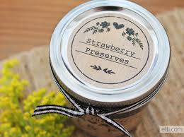 printable jam favor labels the elli blog