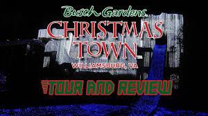 christmas town at busch gardens williamsburg 2016 media event