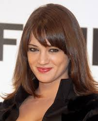 hairstyles for long hair with bangs round face hairstyle foк