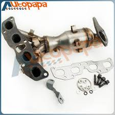 nissan altima coupe service engine soon catalytic converter manifold for 2007 2008 2009 2010 2011 2012
