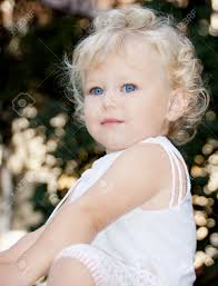 cute baby with eyes stock photo picture and