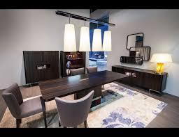 nella vetrina costantini park lane modern stainless steel dining table