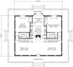 Georgian Style Home Plans Georgian Style Cottage William H Phillips Southern Living